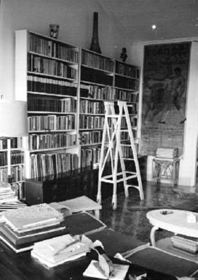 Biblioteca y estudio en casa de Ernest Hemingway