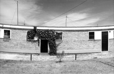 Casas en una unidad habitacional, vista parcial