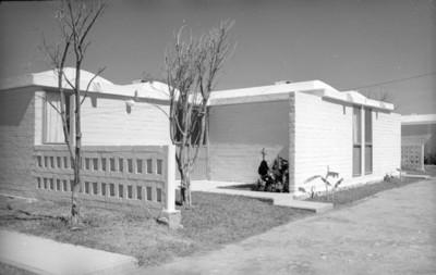 Casas habitación, fachadas