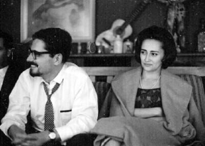 Personas en casa de Ruth Rivera durante una fiesta