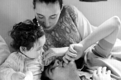 Ruth Rivera, Rafael Coronel y su hijo
