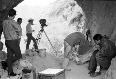 Los Hombres Cultos, filmación de la película