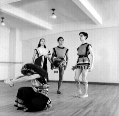 Norte, ensayo del ballet