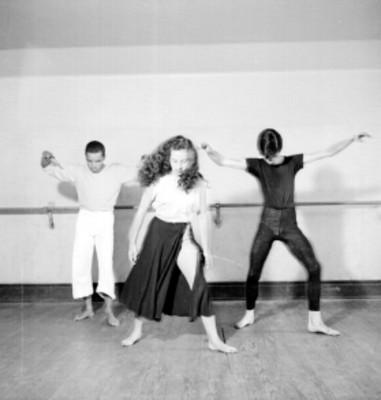 Academia de la danza Mexicana, ensayo
