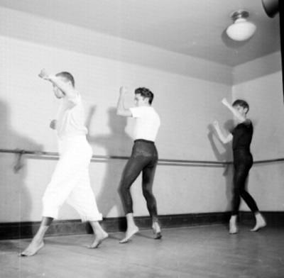 Academia de la danza Mexicana del INBA, ensayo