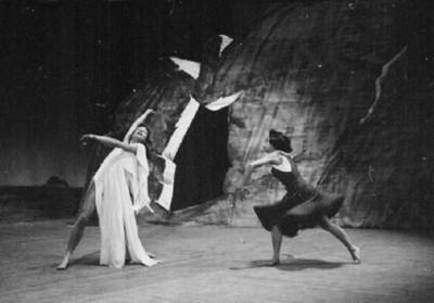 El extraño, escena del ballet