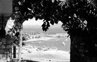 Cabo San Lucas, perspectiva desde un arco