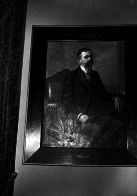 Blas Escontria, gobernador, pintura al óleo, retrato