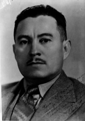Juventino Espinoza, Gobernador de Nayarit, retrato