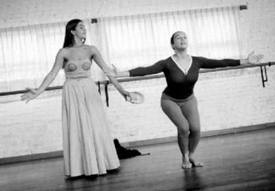 Rocío Sagaón Muestra Coreografía de María Parda