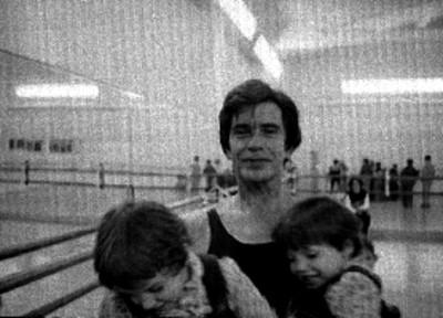 Guillermo Arriaga y bailarines
