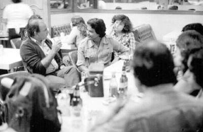 Reunión de fotógrafos en Restaurante Rooselvelt