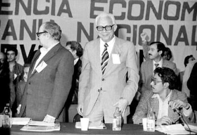 Heberto Castillo en 111 Asamblea Nacional Extraordinaria