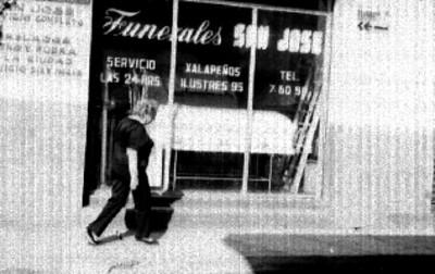 """Funerales """"San José"""" fachada, vista parcial"""