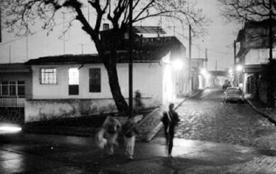 Calle de Xalapa, vista nocturna