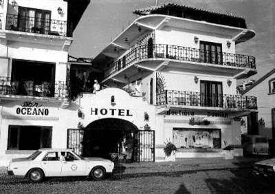 Hotel en puerto Vallarta, vista general