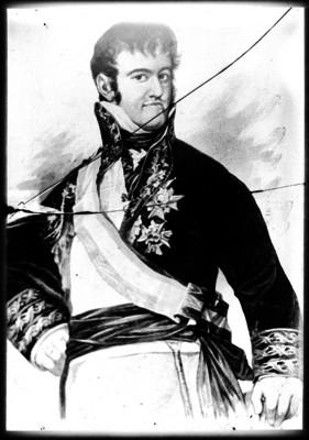 Fernando VII, rey de España, retrato