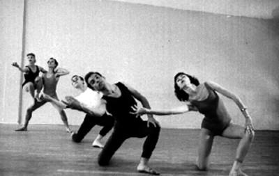 Bailarínes en estudio de danza
