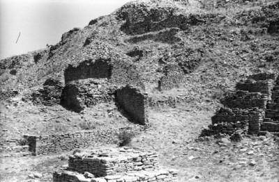 Vestigios arqueológicos en La Quemada, vista