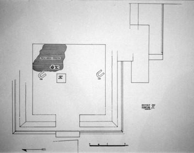 Plano de la Estructura A de Xochicalco