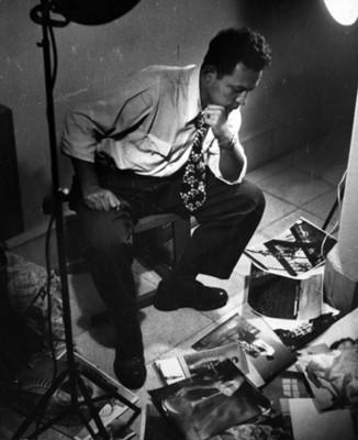 Nacho López en su estudio