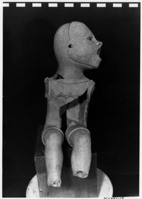 Xipe-totec, escultura de un niño