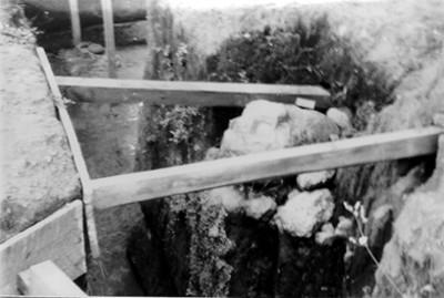 Salvamento de piezas arqueológicas en la zona arqueológica de Kaminaljuyú
