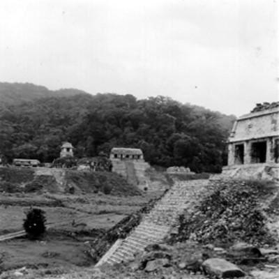 Vista del Templo de la Cruz