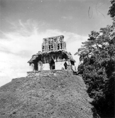 Templo de la Cruz, vista