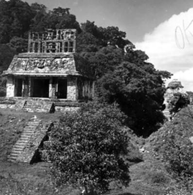 Templo del Sol, vista parcial