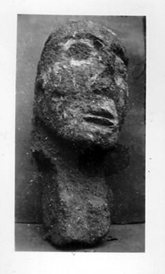 Escultura antropomorfa procedente de Tenayuca