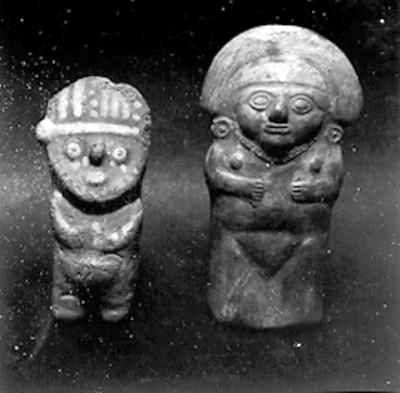 Figurillas antropomorfas