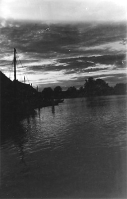 Vista de embarcadero, paisaje