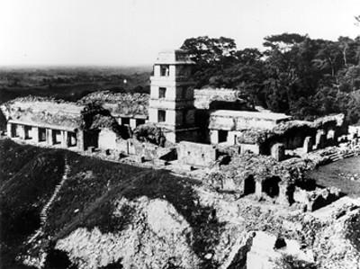 El Palacio en Palenque, vista general