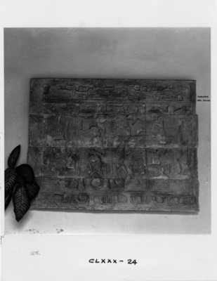 Tableros de un juego de pelota del Tajín, pieza de museo