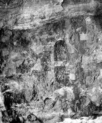 Pinturas rupestres, detalle