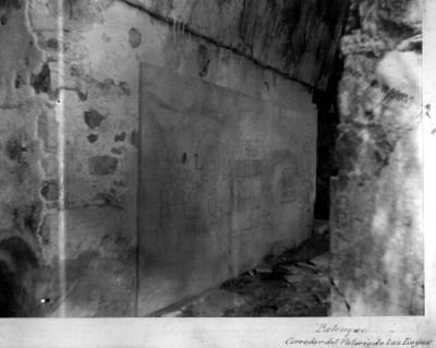 Corredor del Templo de las Inscripciones, interior