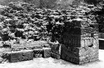 Detalle del Templo del Tepozteco