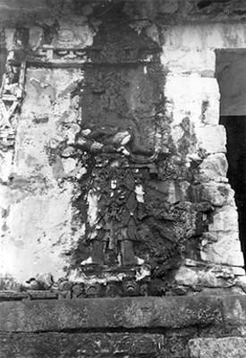 Pilastra C en el Templo de las Inscripciones