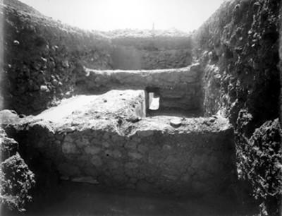 Cala de excavación, vista parcial