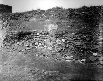 """Cala """"201"""" en Teotihuacán, vista parcial"""