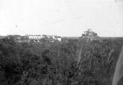 Chichén-Itzá, panorámica