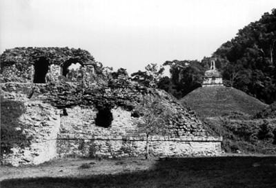 El palacio, vista parcial