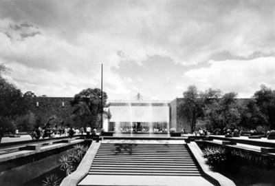 Museo Nacional de Antropologia, fachada principal