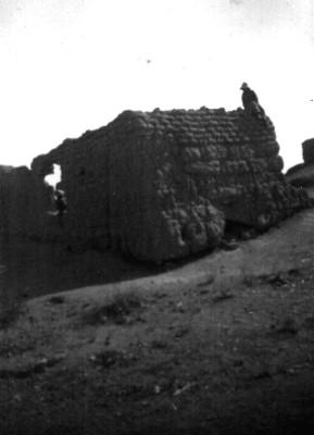 """Vista del """"Templo de la Cruz Enramada o Foliada"""""""