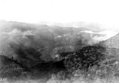 Vista de la Sierra Madre, panorámica