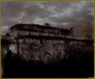 Edificio de las Monjas, vista posterior