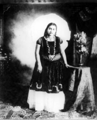 Mujer zapoteca, retrato