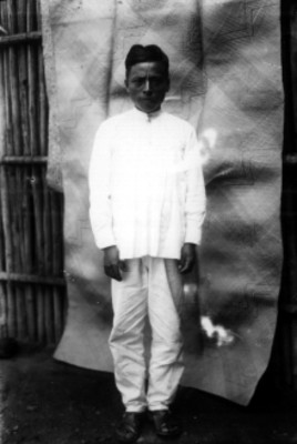 Hombre zapoteco, retrato