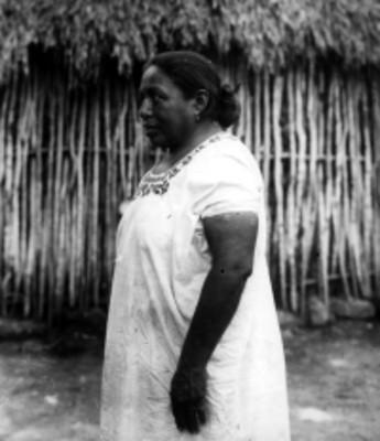 Mujer maya, retrato
